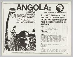 Flyer advertising a seminar on the Um so Povo program