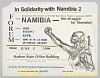 Thumbnail for Flyer advertising a forum and film showing on Namibia