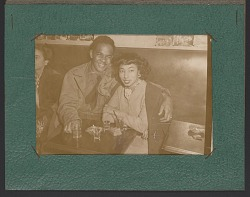 Souvenir photograph from the Down Beat Swing Room