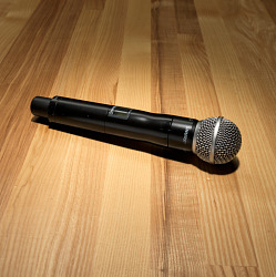 Cordless microphone used by Rakim to record The 18th Letter