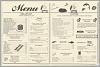 Thumbnail for Menu from the Florida Avenue Grill restaurant