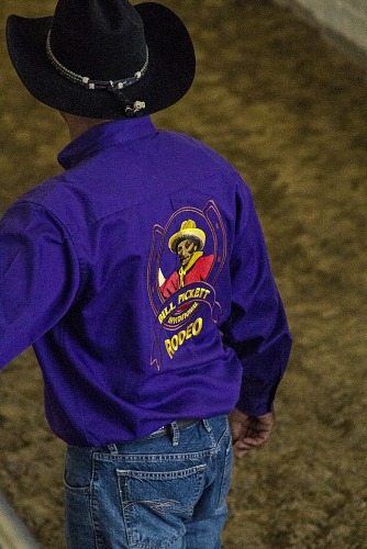 Image for Cowboy in Purple Shirt
