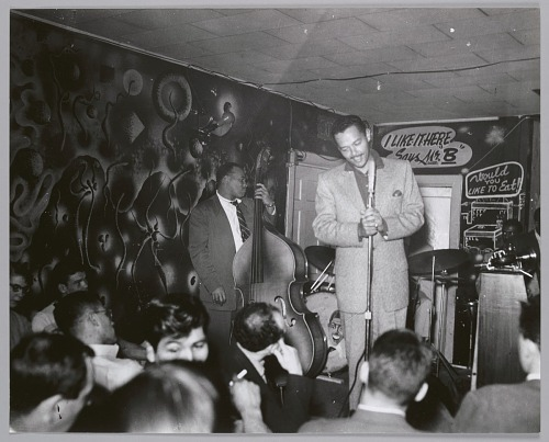Image for Billy Eckstine on stage, c. mid-1950s