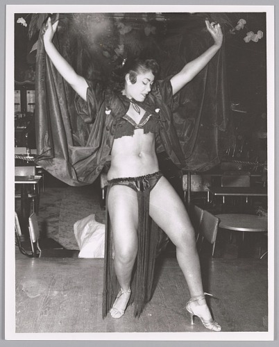Image for Exotic Dancer, name unknown, c. mid 1950s