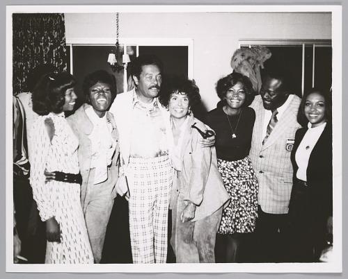 Image for Mary Wilson, Dee Dee Warwick, Billy Eckstine, Lena Horne, Dionne Warwick, radio DJ Detroit Benson, unknown girl singer