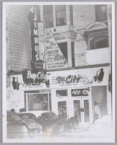 Image for Entrance to Bop City, San Francisco, CA, c. 1951