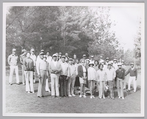 Image for Organization of African American golfers, Northern California, c. 1970s.