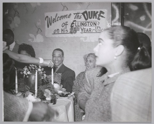 Image for Duke Ellington celebrates 25th anniversary in show business, c. 1952
