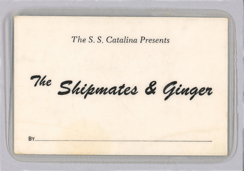 Image for Promotional card for the The Shipmates & Ginger
