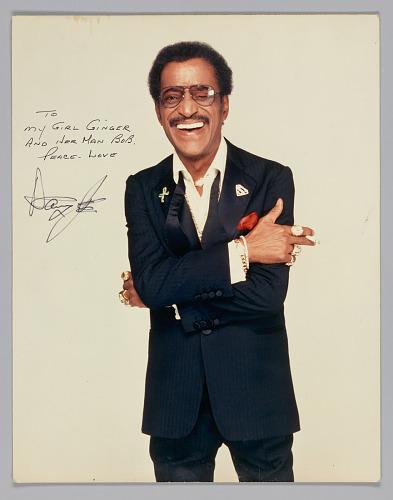 Image for Color picture of Sammy Davis Jr. inscribed to Ginger Smock