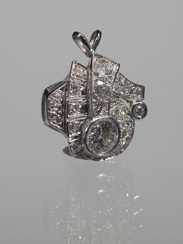 Image for Silver pendant owned by Ginger Smock