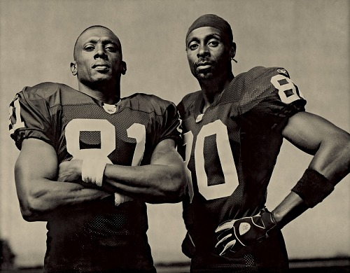 Image for Tim Brown & Jerry Rice, 2002