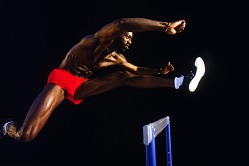 Edwin Moses, Huntington Beach, CA 1991
