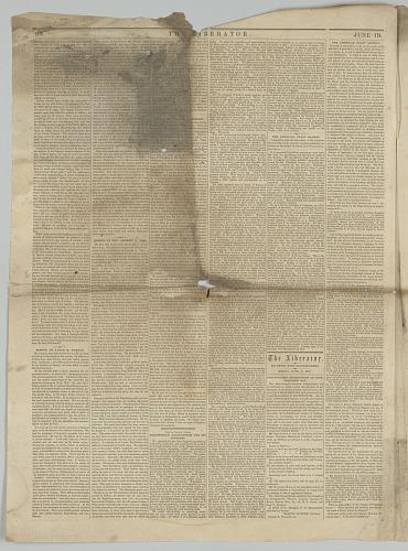 Image for The Liberator, Vol. XXVII, No. 25