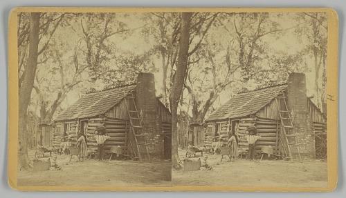 Image for Plantation Scene; Folks All Home