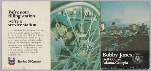 Image for Scorecard from Bobby Jones Golf Course