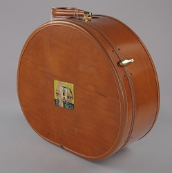 Samsonite hat box suitcase from Mae's Millinery Shop