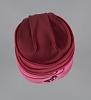 Thumbnail for Pink turban style hat and scarf from Mae's Millinery Shop