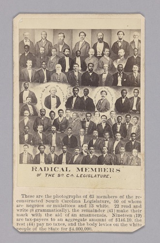 Image for Radical Members of the South Carolina Legislature