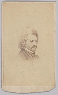 Carte-de-visite of Frederick Douglass