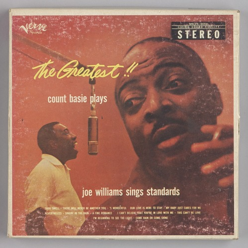 Image for The Greatest!! Count Basie Plays, Joe Williams Sings Standards