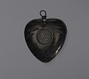Thumbnail for Anthracite coal heart-shaped pendant attributed to C. Edgar Patience