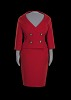 Thumbnail for Red suit worn by Oprah Winfrey during the car giveaway on The Oprah Winfrey Show