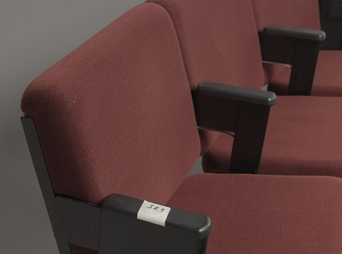 Image for Audience chairs from the set of The Oprah Winfrey Show at Harpo Studios