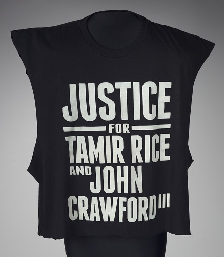Image for T-shirt for Tamir Rice and John Crawford worn by Andrew Hawkins