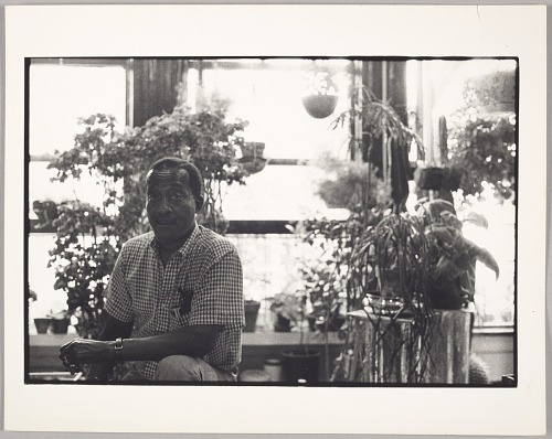 Image for Norman Lewis, artist, NYC studio