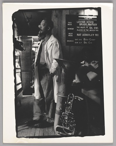 Image for Lester Bowie, Sweet Basil, NYC
