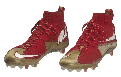 Image for Pair of football cleats signed by Colin Kaepernick