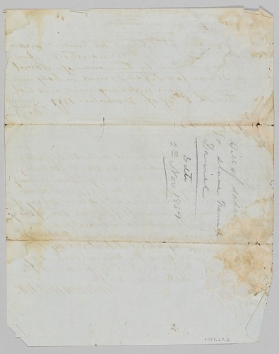 Image for Bill of sale for a man named Daniel to Jerome B. Annis