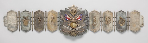 Image for Police Gazette Championship Belt and presentation case awarded to Ezzard Charles