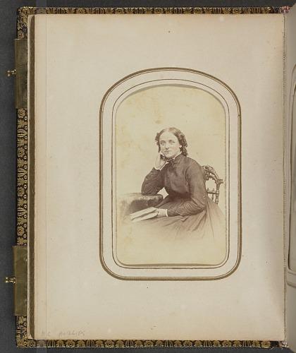 Image for Carte-de-visite portrait of Sally Cadwallader Ely