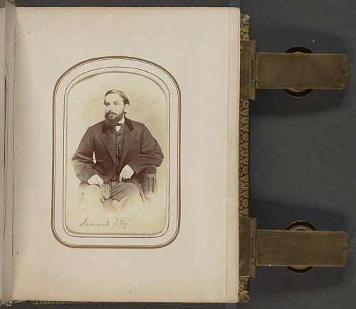 Image for Carte-de-visite portrait of Samuel Ely