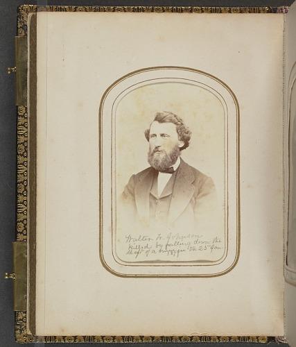 Image for Carte-de-visite portrait of Walter W. Johnson