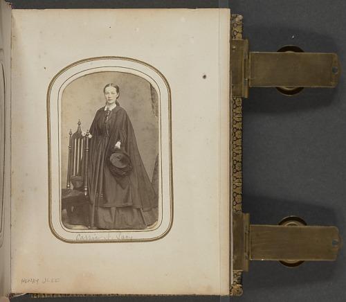 Image for Carte-de-visite portrait of Carrie N. Lacy