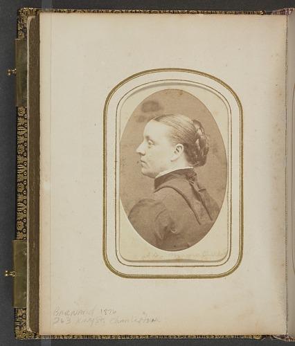 Image for Carte-de-visite portrait of Abby D. Munro