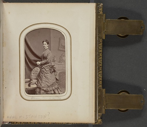 Image for Carte-de-visite portrait of Anna M. Stanton