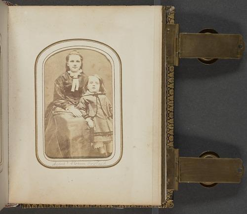 Image for Carte-de-visite portrait of Agnes and Slocum Howland
