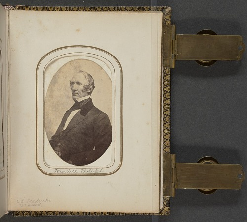 Image for Carte-de-visite portrait of Wendell Phillips