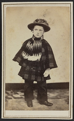 Image for Carte-de-visite portrait of Willy Hall