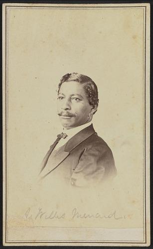 Image for Carte-de-visite portrait of John W. Menard