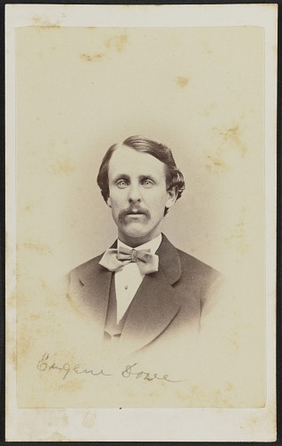 Image for Carte-de-visite portrait of Eugene Dowe