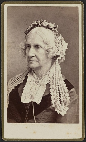 Image for Carte-de-visite portrait of Nancy M. Johnson