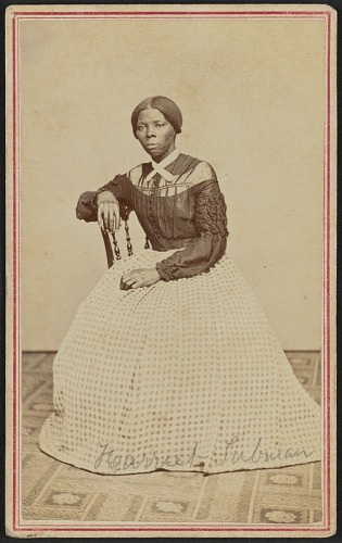 Image for Carte-de-visite portrait of Harriet Tubman
