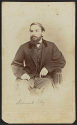 Carte-de-visite portrait of Samuel Ely