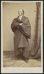 Carte-de-visite portrait of William Henry Channing