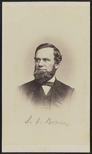 Image for Carte-de-visite portrait of S. J. Bowen